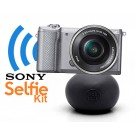 Sony Alpha A5000 (ILCE5000L) zilverSelfie Kit: 16-50mm + BallPod