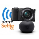 Sony ILCE5000 Selfie Kit: 16-50mm + BallPod zwart