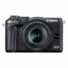 Canon EOS M6 zwart + EF-M 18-150mm IS STM