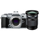 Olympus OM-D E-M5 Mark III Kit incl. 12-200mm, Zilver