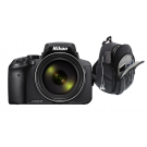 Nikon COOLPIX P1000 Black + Tas