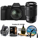 Fujifilm X-S10 Zwart / XF18-55mm F2.8-4.0 R LM OIS Kit + XC 50-230mm f/4.5-6.7 OIS Premium Kit