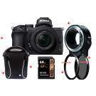 Nikon Z 50 + Z DX 16-50mm F/3.5-6.3 VR + FTZ Premium Kit