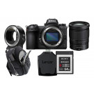 Nikon Z 6 + Z 24-70 F4 + Mount Adapter + premium kit
