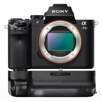 Sony A7 II Body (ILCE7M2B) Body + Battery Grip