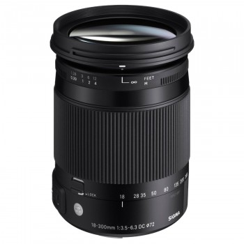 Sigma 18-300mm F3.5-6.3 DC Macro OS HSM I Contemporary Canon AF