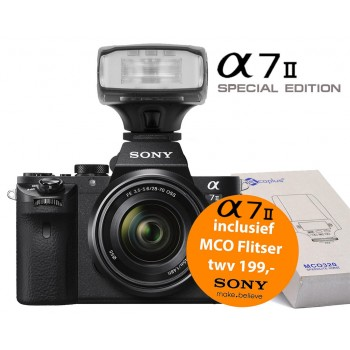 Sony A7 II + 28-70mm F3.5-5.6 OSS (ILCE7M2KB) + MCO320 Opzetflitser