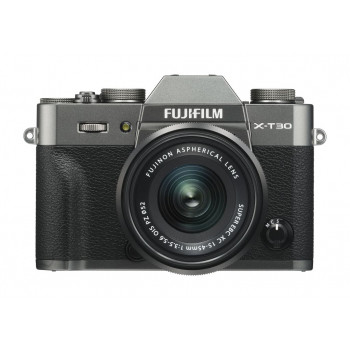 Fujifilm X-T30 Dark Zilver XC15-45 PZ Powerzoom